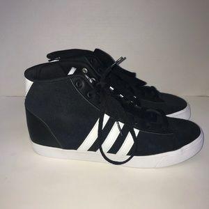 Adidas neo scarpe da ginnastica alte nwot poshmark